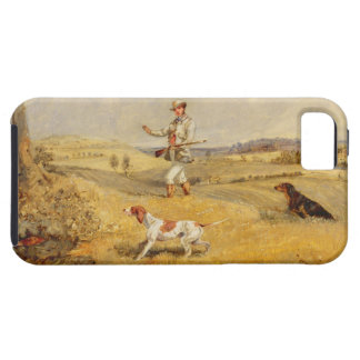 Partridge Shooting (oil on panel) iPhone SE/5/5s Case