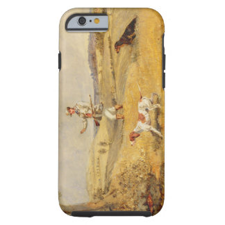 Partridge Shooting (oil on panel) Tough iPhone 6 Case