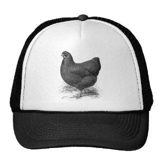 partridge wyandotte hen trucker hat