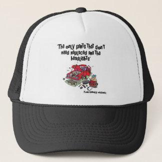 Parts Funny Mechanic Trucker Hat