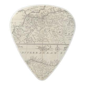 Parts of Barbary, Africa Acetal Guitar Pick
