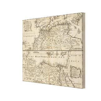 Parts of Barbary, Africa Canvas Print
