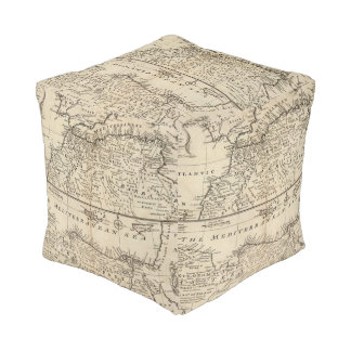 Parts of Barbary, Africa Cube Pouf