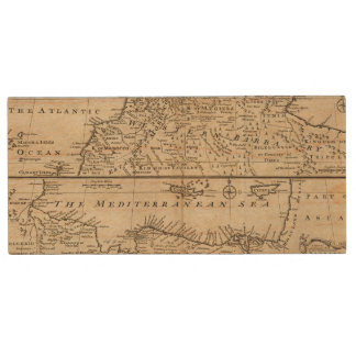 Parts of Barbary, Africa Wood USB 2.0 Flash Drive