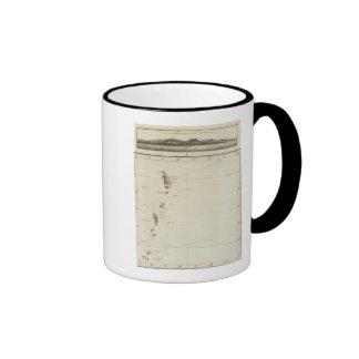 Parts of Japan and Nipon Ringer Coffee Mug
