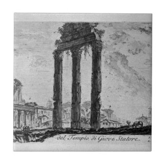 Parts of the Forum of Nerva by Giovanni Battista Tile