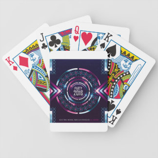 Party 2016 Album Cover Merch Bicycle Playing Cards
