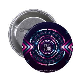 Party 2016 Album Cover Merch Button