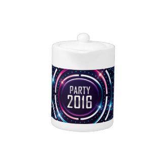 Party 2016 Album Cover Merch Teapot