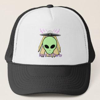 Party Ailen Trucker Hat