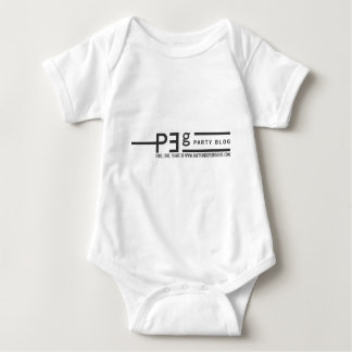 Party and Event Guide Logo W/ Slogan Baby Bodysuit