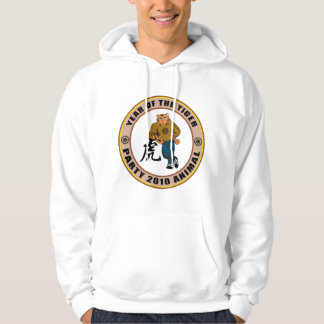 Party Animal 2010 Year of The Tiger Hooded Sweatshirt