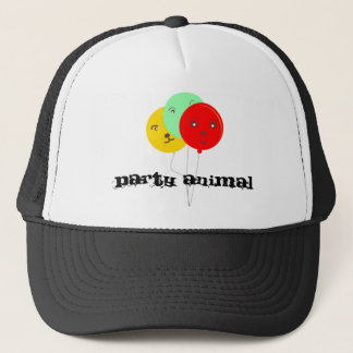Party Animal 3 BalloonsT shirts Trucker Hat