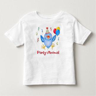 Party Animal Bluebird Toddler T-shirt