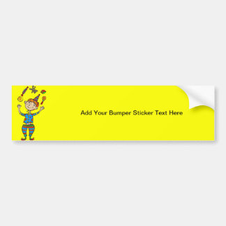 Party Animal Boy Bumper Stickers