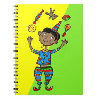 Party Animal Boy Spiral Notebook