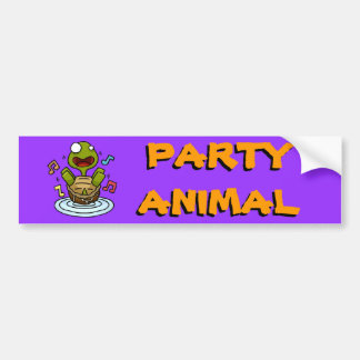 Party Animal Bumper Sticker