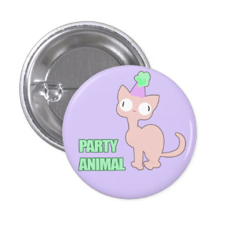Party Animal Button