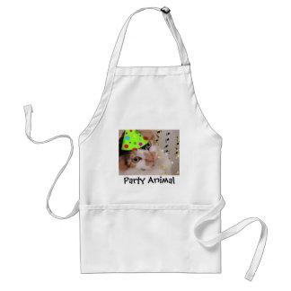 Party Animal Calico Cat Apron