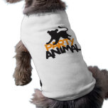 Party Animal! cat leaping Pet Clothes