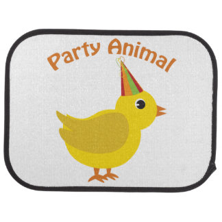 Party Animal Chick Car Mat