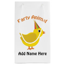 Party Animal Chick Small Gift Bag