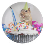 Party Animal Chipmunk Plate