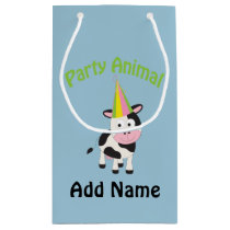 Party animal! Cow Small Gift Bag