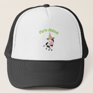 Party Animal cow Trucker Hat