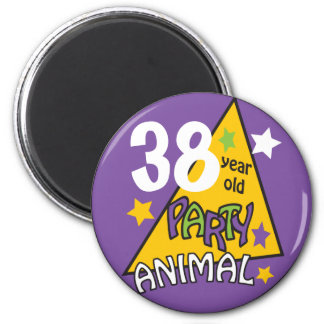 Party Animal  | DIY AGE | Birthday Humor Magnet