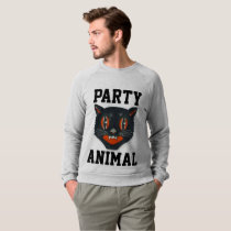 PARTY ANIMAL Funny CAT T-shirts & sweatshirts