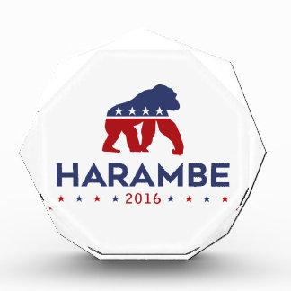 Party Animal Harambe Acrylic Award