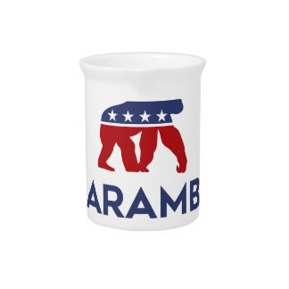 Party Animal Harambe Drink Pitcher