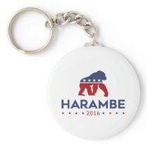 Party Animal Harambe Keychain