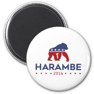 Party Animal Harambe Magnet