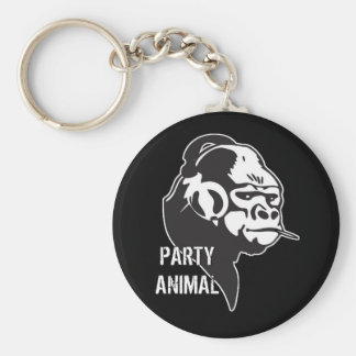 Party Animal Key Chains