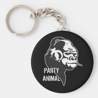 Party Animal Keychain