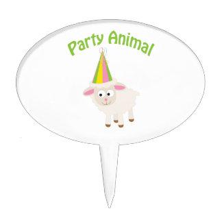 Party Animal Lamb Cake Pick