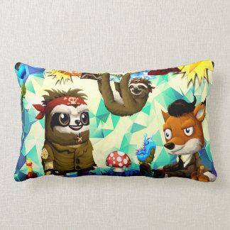 party animal lumbar pillow