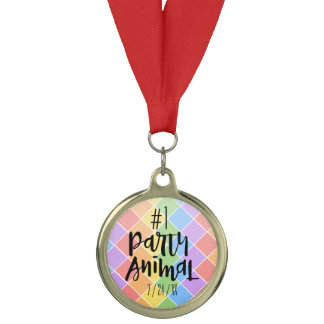Party Animal Medal