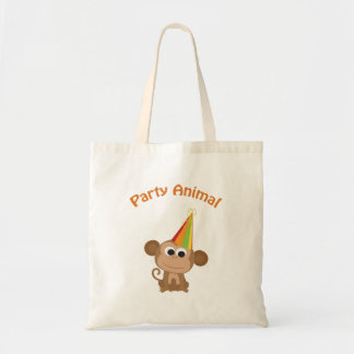 Party Animal! Monkey Tote Bag
