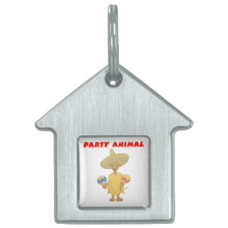 PARTY ANIMAL PET TAG