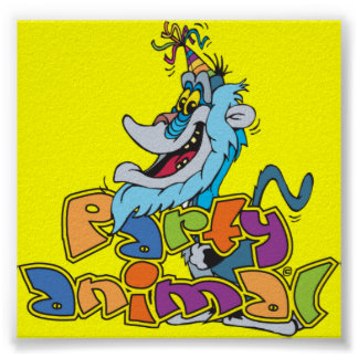 party animal picture print