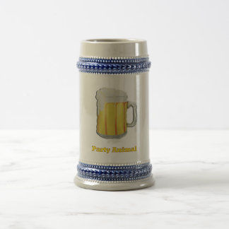 Party animal products beer stein