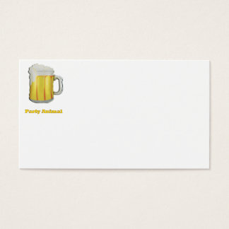Party animal products business card
