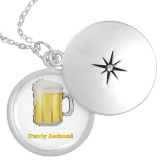 Party animal products locket necklace