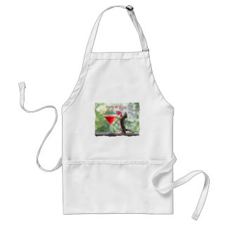 Party Animal Squirrel Adult Apron