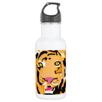 Party Animal Stainless Steel Water Bottle