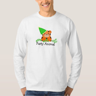 Party Animal - Tiger T-Shirt