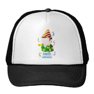 Party animal trucker hat